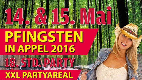 Pfingsten in Appel 2016